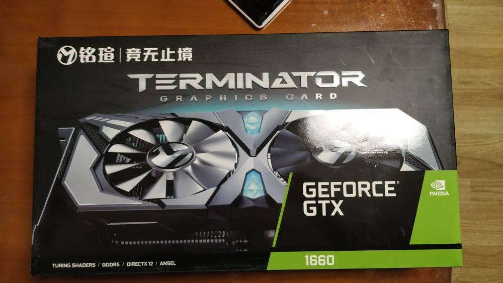 铭瑄(MAXSUN)GTX1660super系列/电竞之心6G英雄标配显卡/战地/游戏显卡1660super终结者6G