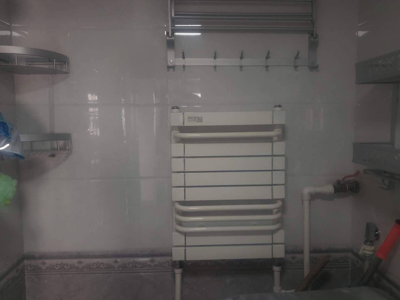 欧比亚小背篓暖气片家用水暖铜铝复合卫生间散热器集中自采暖供暖卫浴厨房厕所洗手间壁挂式小背篓置物架铜铝方管背篓高600x宽400mm