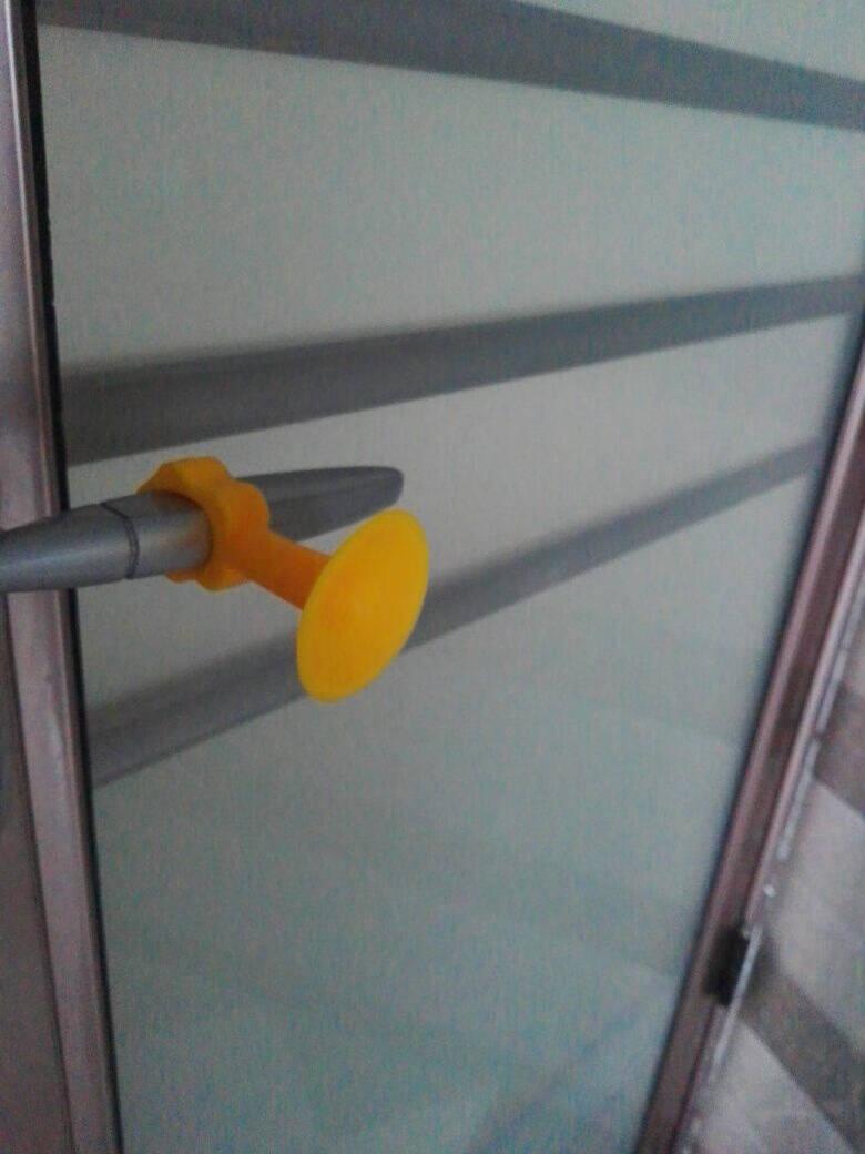 橱饰美(CHOOSEME)多功能免打孔硅胶门吸加厚加长防撞卫生间免钉吸墙门碰窗吸静音五个装(颜色随机)