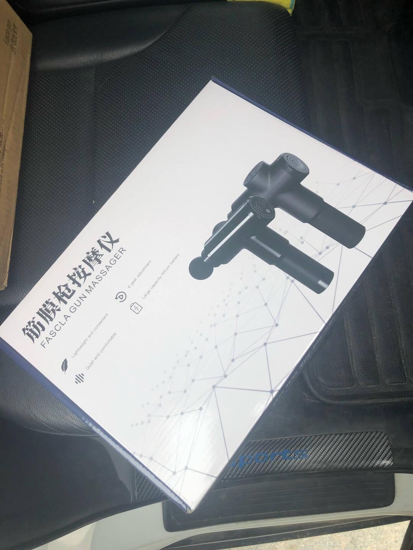 德国佳仁(JARE)筋膜枪按摩器颈膜枪按摩棒全身颈部腰部肩部肌肉筋膜健身运动训练按摩仪顶配液晶触控款+99挡智能调速+赠8组按摩头