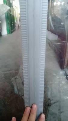 美日富达门帘透明空调门帘磁铁自吸磁吸PVC塑料超市商场商用隔断夏季隔热防蚊蝇挡风冬季保温防寒灰色1.6mm厚无封底宽0.4米*高2.5米/1片