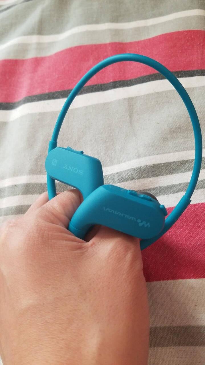 索尼(SONY)NW-WS623蓝牙防水游泳跑步运动mp3音乐播放器一体耳机(黑色)