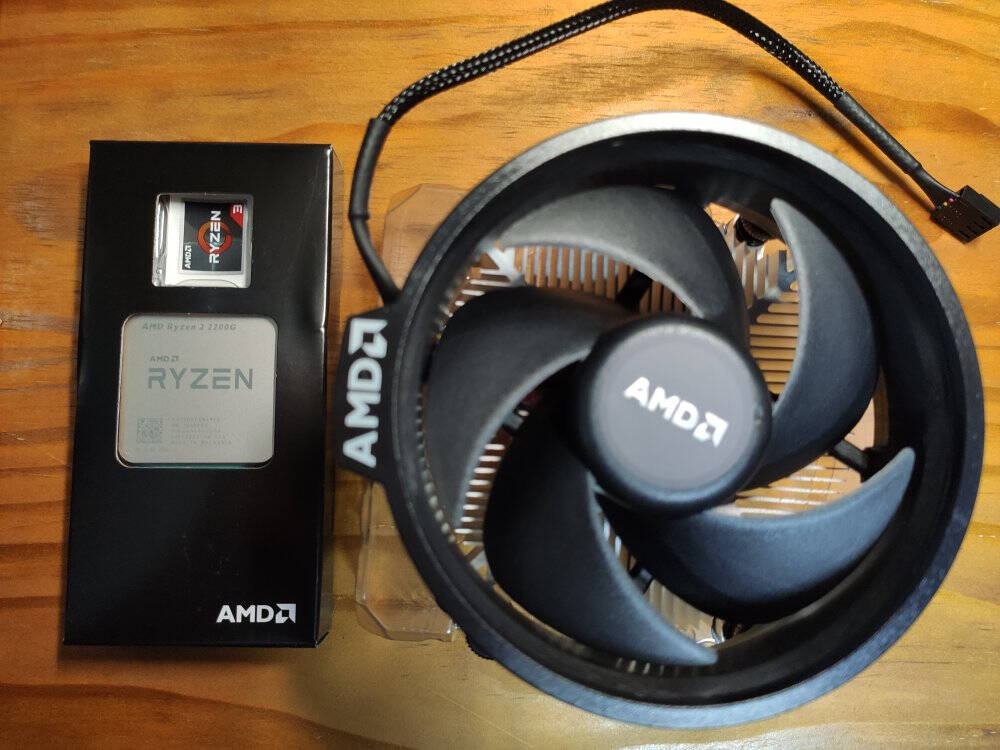 AMD锐龙R53400G/3500X3200G搭华擎A320MHDVR4.0主板CPU套装A109700套装