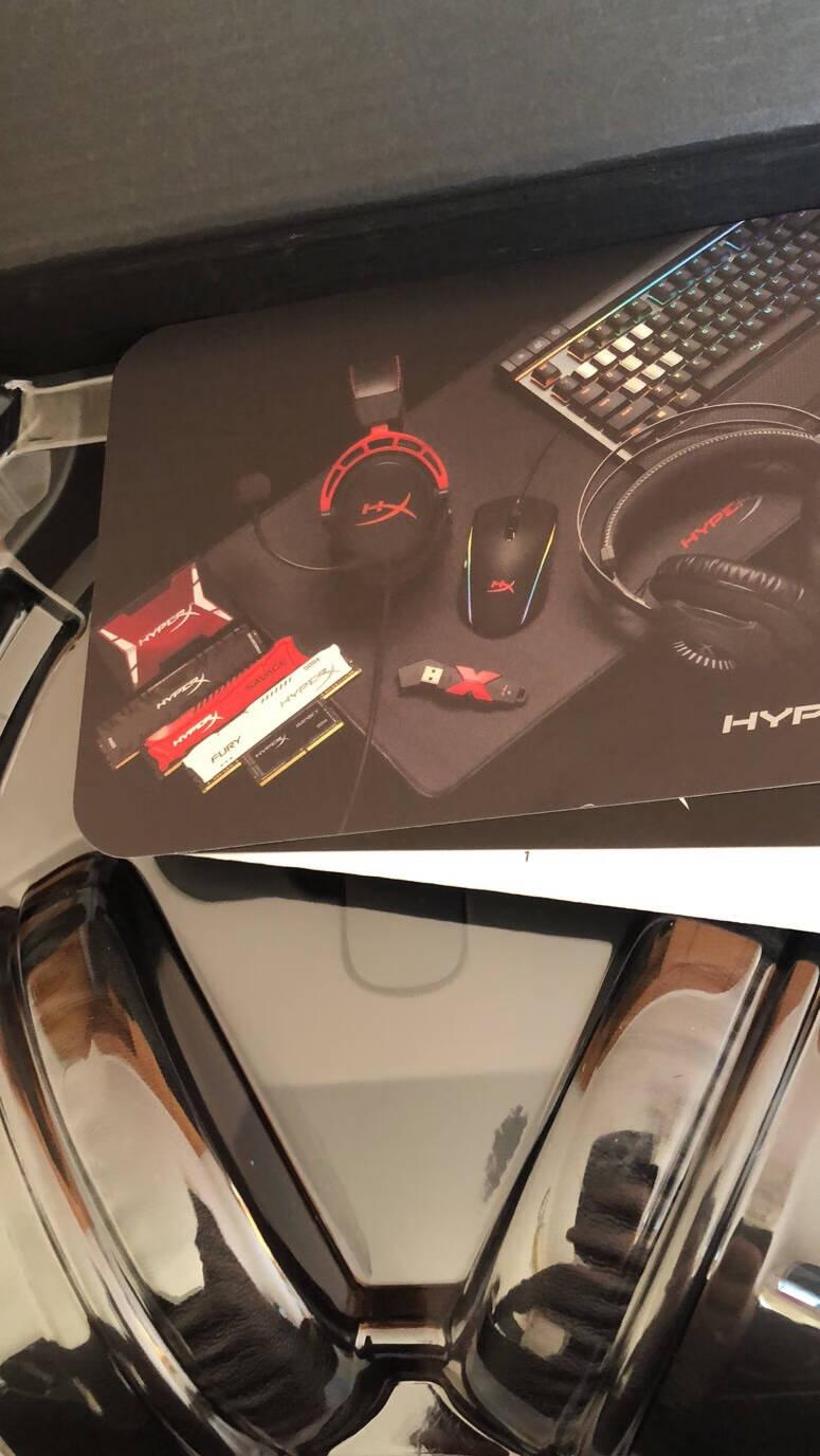 金士顿(Kingston)HyperX游戏耳机Cloud2飓风2黑鹰S电竞耳机头戴式电脑吃鸡耳机耳麦云雀游戏耳机入耳式带麦