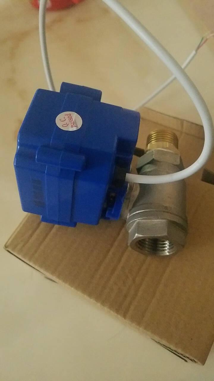 易觅尔YMER微型电动球阀两线断电复位常开或常闭DN15DN252寸不锈钢阀门代替电磁阀电压可DN20两线断电复位(常闭型)DC24V