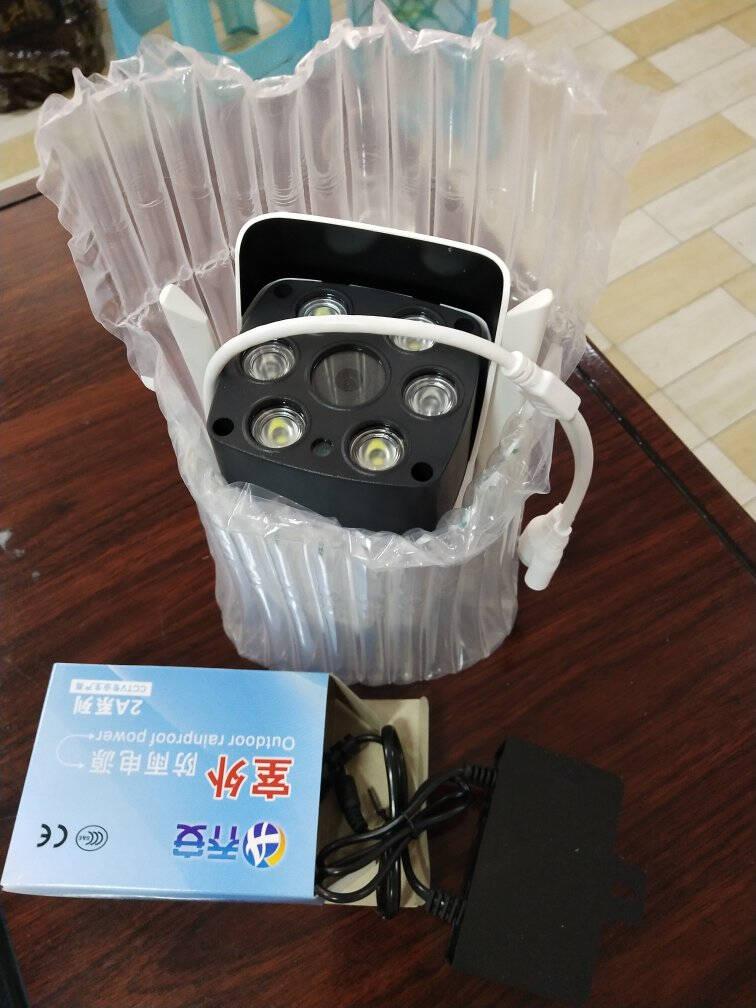 乔安(JOOAN)监控摄像头无线wifi网络手机远程摄像机室外高清全彩夜视监控器家用室内套装高清室外防水版
