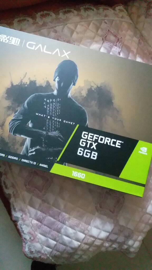 影驰(Galaxy)GeForceGTX1660大将6GGDDR5台式机电竞游戏显卡