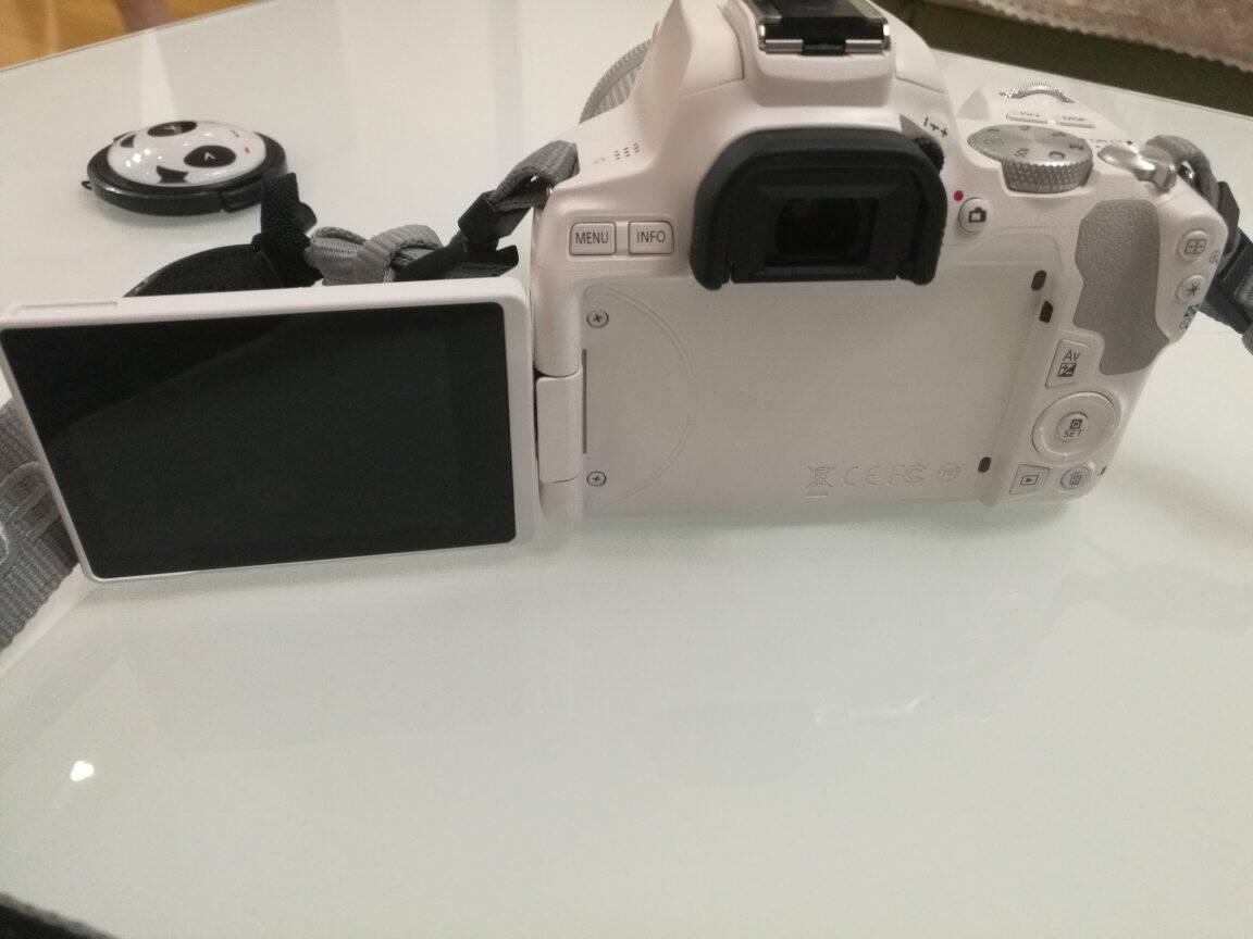 佳能200D二代2ii单反相机入门级eos迷你数码旅游学生款vlog照相机黑色基础配件套餐