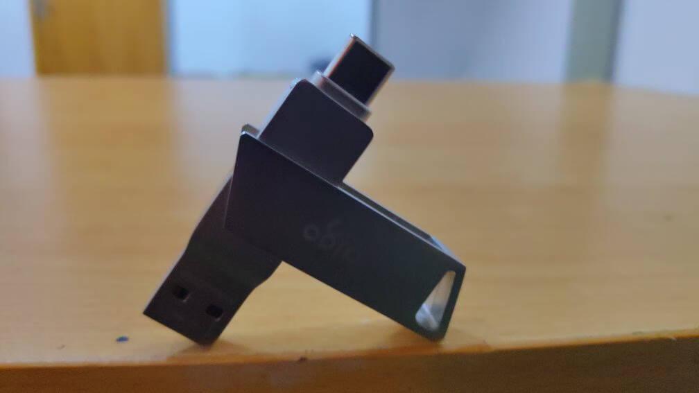 爱国者(aigo)32GBType-CUSB3.0手机U盘U350银色双接口手机电脑用