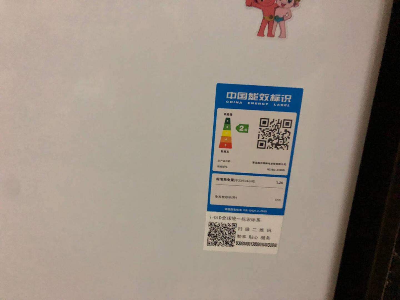 海尔(Haier)518升商用卧式大冷冻冰柜冷藏冷冻转换冷柜BC/BD-518HD
