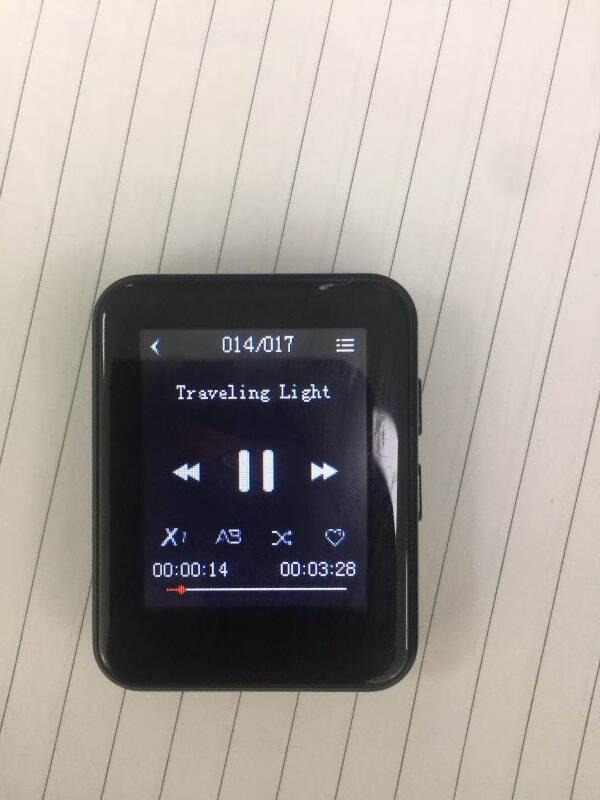 炳捷(BENJIE)全面屏mp3蓝牙全屏触屏mp4迷你mp5英语播放器便携式音乐随身听16G【蓝牙版】