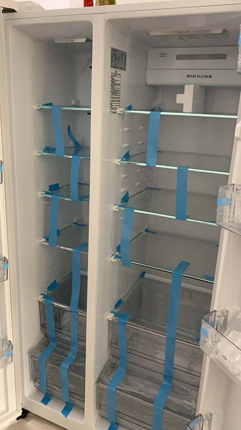 Haier/海尔冰箱528升双开门电冰箱/大容量家用对开门/风冷无霜变频节能静音