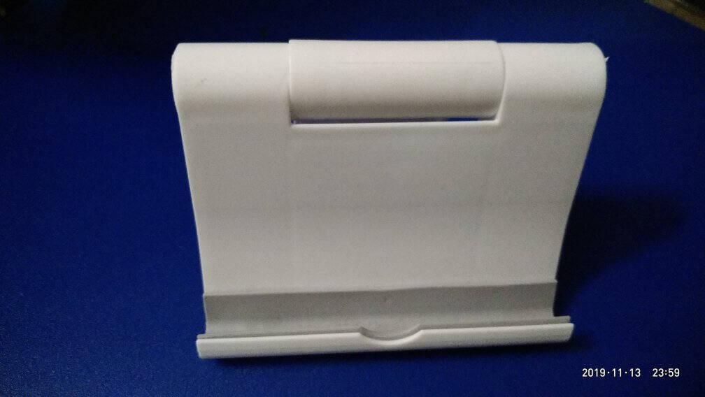 猛豹桌面手机平板电脑支架创意可调节多功能懒人支撑架ipad手机平板通用折叠式便携手机架手机座平板手机通用折叠支架【随机颜色】
