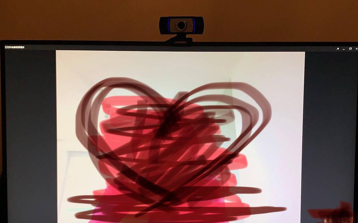 奥尼(aoni)A31电脑摄像头自动对焦高清直播1080P内置麦克风台式机笔记本摄像头