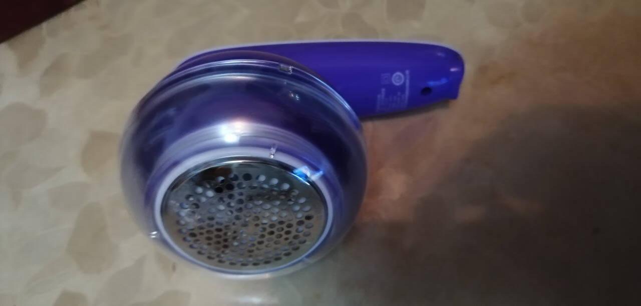 飞科毛球修剪器去球器剃毛球器去毛球器刮毛器剃毛器衣服家用剃球器剃毛机除球器打毛器吸球器去球器起球神器紫色+5刀头+粘毛器套装