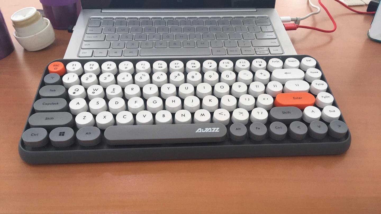 黑爵308i蓝牙键盘,送女朋友可爱实用礼物