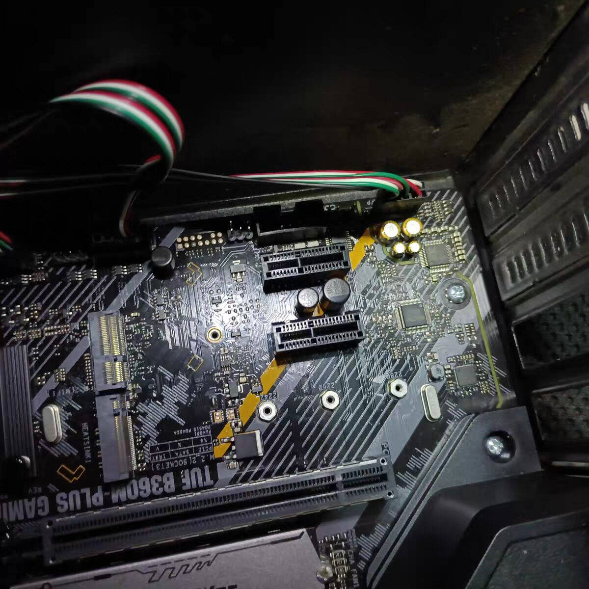 华硕(ASUS)TUFGAMINGZ590-PLUSWIFI主板支持CPU11900K/11700K(IntelZ590/LGA1200)
