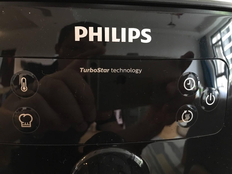 飞利浦(PHILIPS)空气炸锅第三代家用无油多功能电炸锅薯条机数字显示HD9741/61