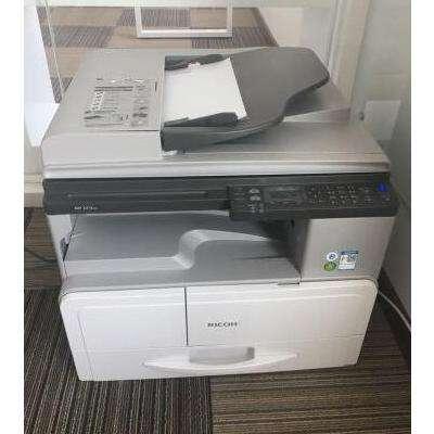 理光(Ricoh)MP2014/D/ADN黑白激光A3复印机一体机A3A4复合机复印机打印办公扫描MP2014D(双面打印)