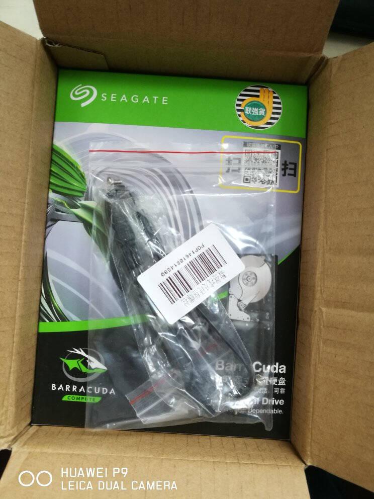 希捷(SEAGATE)酷鱼1T硬盘台式电脑机械硬盘1TBST1000DM010