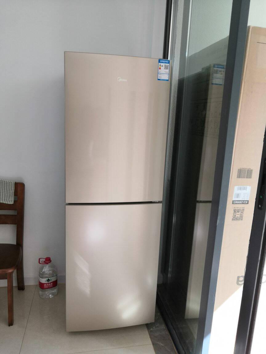 美的(Midea)236升风冷无霜双开门冰箱节能环保低音冷藏冷冻电子控温保鲜BCD-236WM(E)