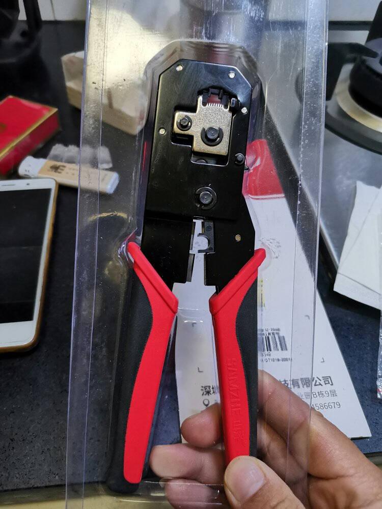 山泽(SAMZHE)打线刀模块配线架打线工具打线器打线钳电话网络通用卡线刀SZ-324B