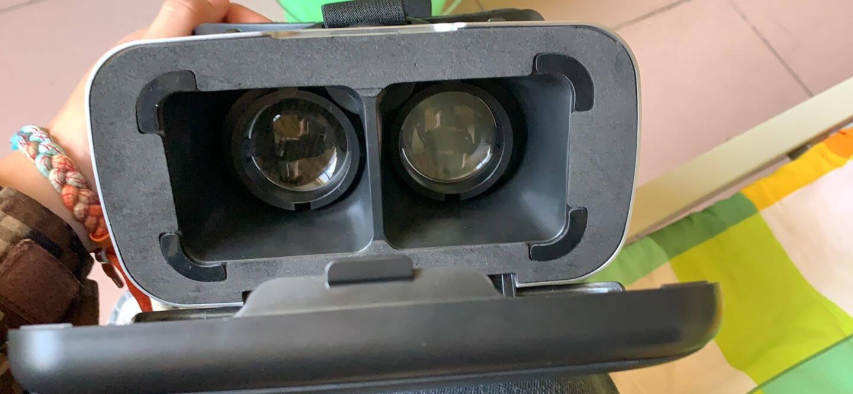 千幻魔镜智能vr眼镜游戏头盔虚拟现实眼镜ar眼镜3D电影苹果安卓手机通用【游戏版】升级高清眼镜+资源+蓝牙手柄+游戏手柄
