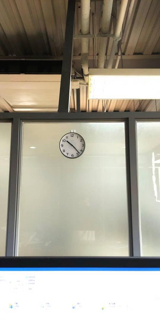 客厅座钟台式钟表摆件欧式创意台钟卧室摆钟静音时钟桌面小挂钟20cm白色有支架8英寸