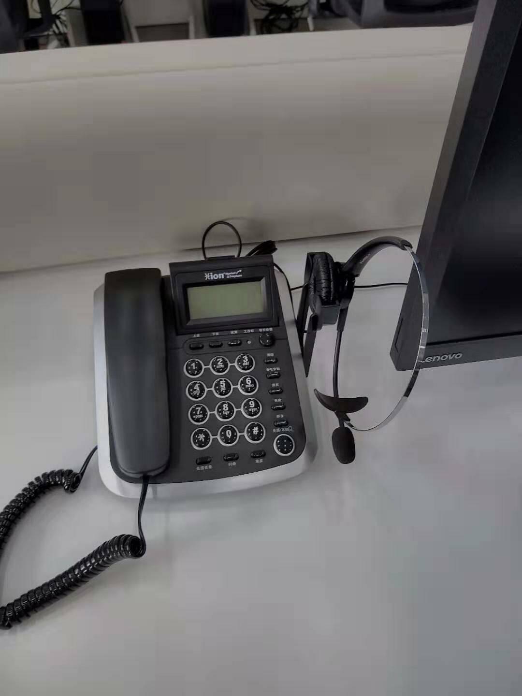 北恩(HION)VF560耳机电话机套装话务员/客服/呼叫中心耳麦电话