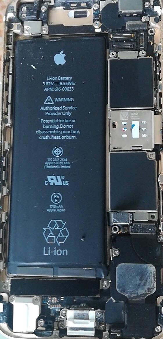 诺希苹果6Plus电池iphone6P电池苹果手机内置电池更换3650mAh大容量游戏直播电池旗舰MAX2带安装工具