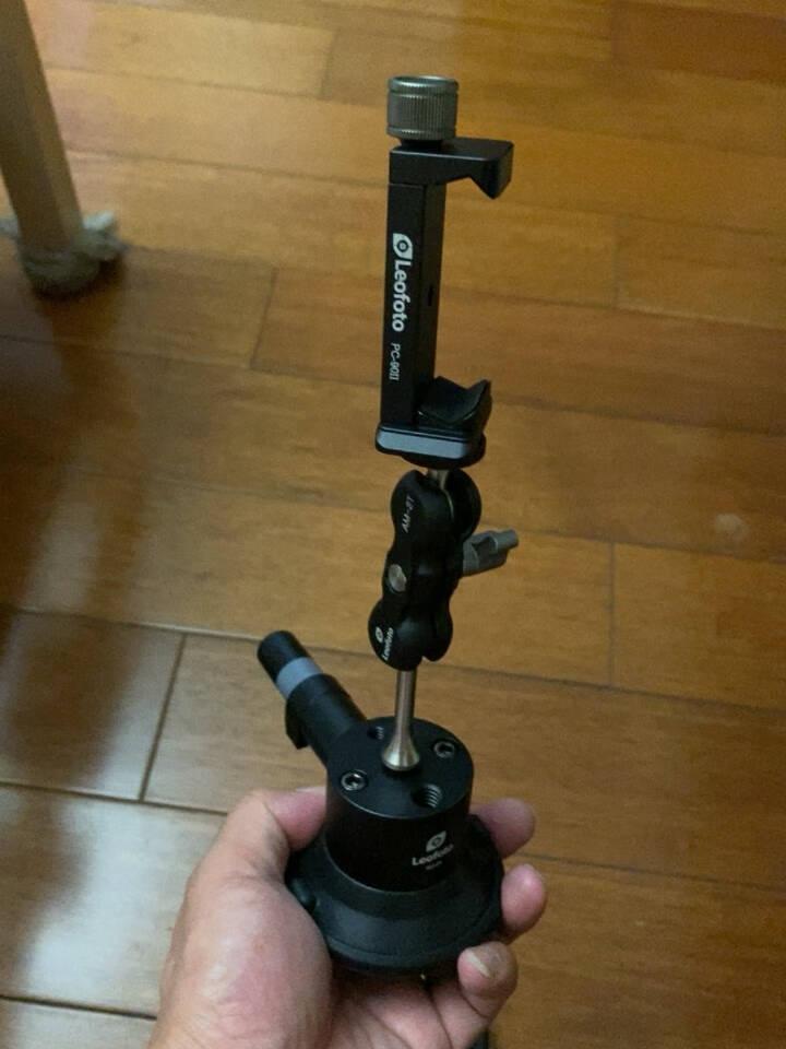 Leofoto徕图SC手泵式吸盘手机摄影摄像室内吸盘式支架SC-02套装