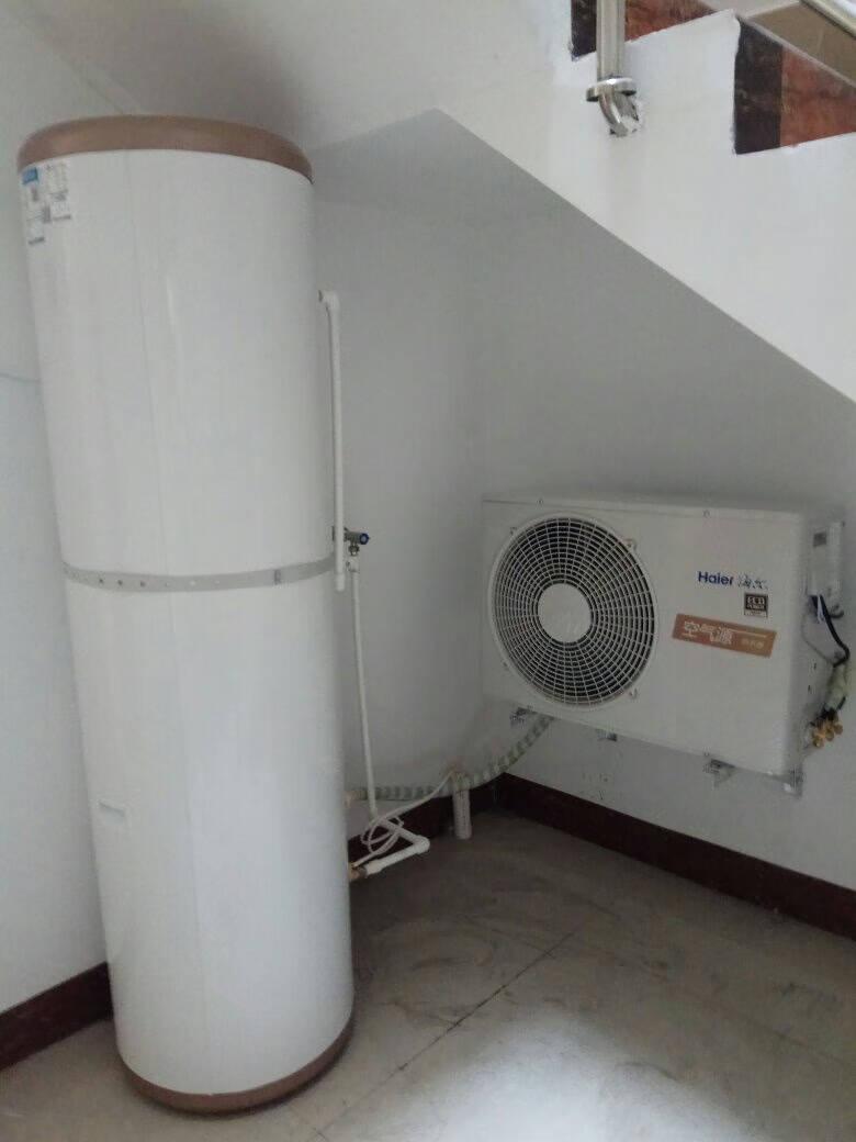 海尔(Haier)空气能热水器家用200升十年包修WIFI控制中央空气源热泵速热恒温舒尚PLUSR-200L3-U1