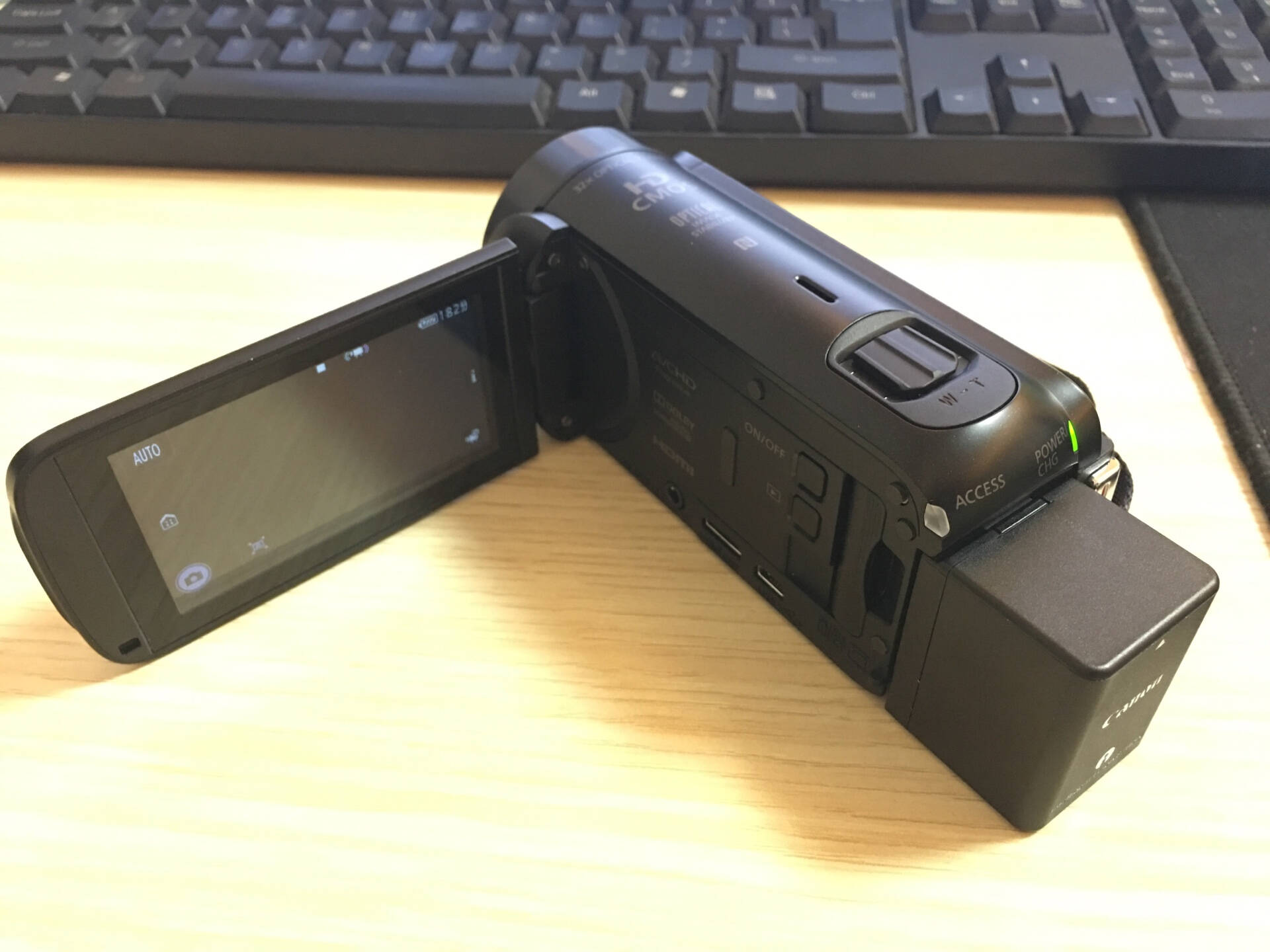 佳能(Canon)HFR86亲子DV数码摄像机Vlog视频