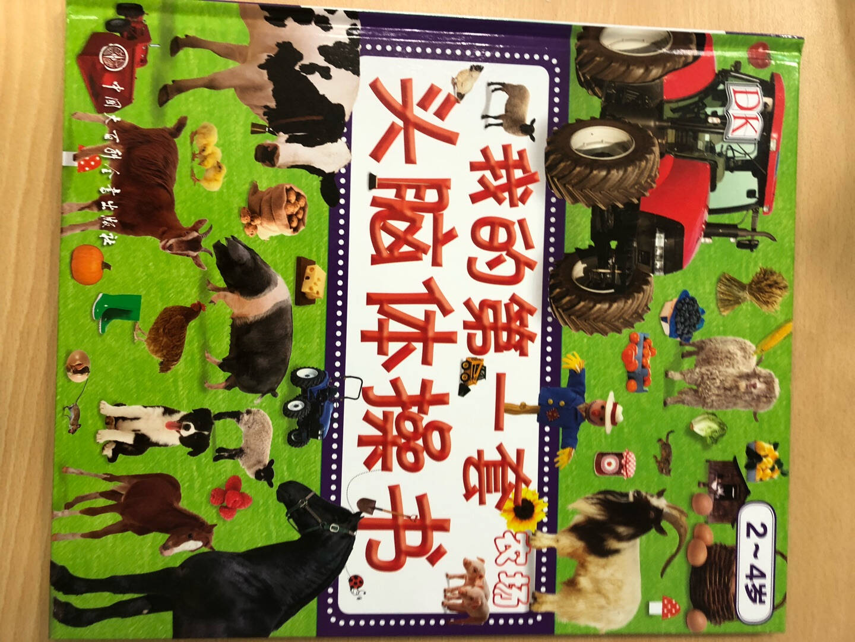 DK幼儿百科全书·第一套头脑体操书:玩具+交通+农场+动物(套装共四册)