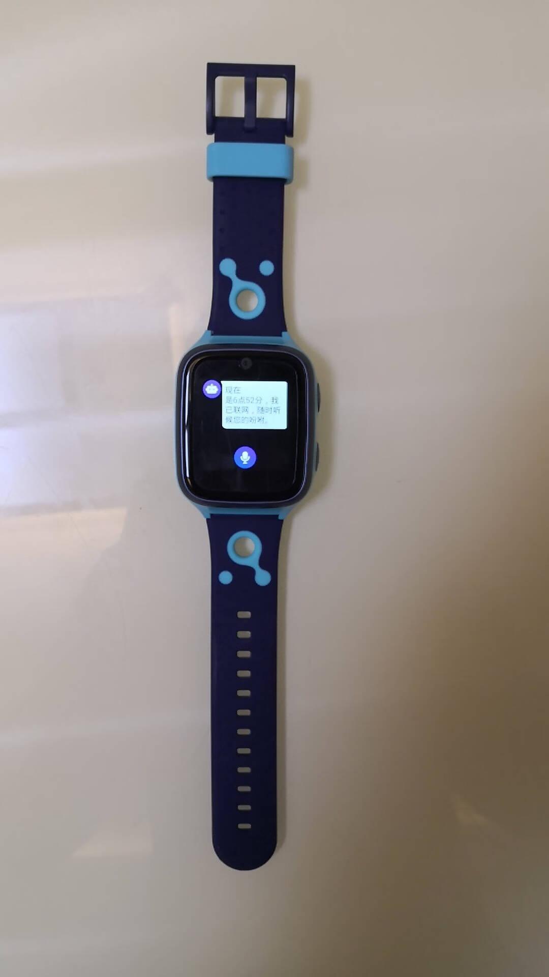 360儿童电话手表9X智能语音问答定位支付手表4G全网通20米游泳级防水视频通话拍照手表男女孩星空蓝