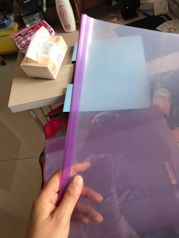 晨光(M&G)文具10个装A4/5mm蓝色圆杆抽杆夹办公报告夹拉杆夹资料整理收纳文件夹ADMN4389