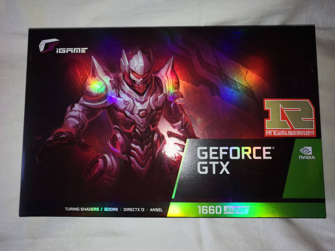 七彩虹(Colorful)iGameGeForceGTX1660SUPERUltra6G1785-1830MHzGDDR6台式电脑电竞游戏显卡