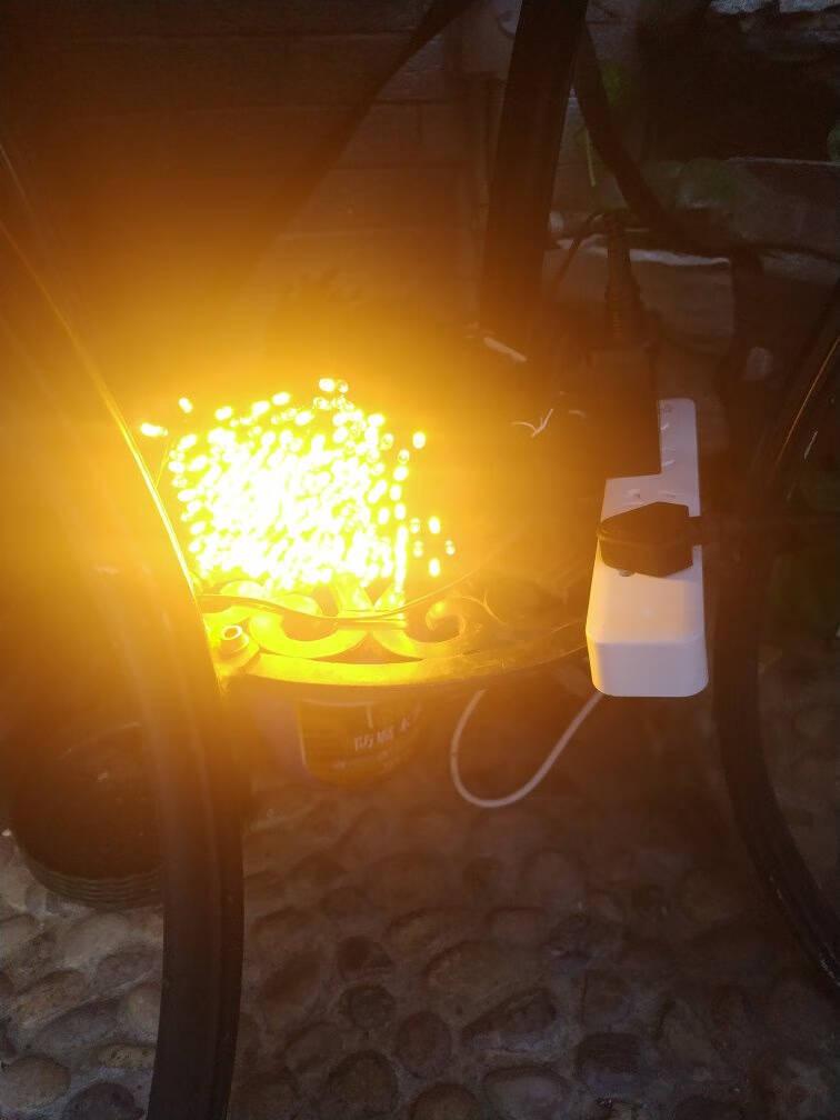 倍绿太阳能灯串LED七彩串灯户外庭院灯圣诞节装饰灯防水星星灯树灯花园景观灯满天星节庆春节礼物送孩子100LED12米暖白八功能