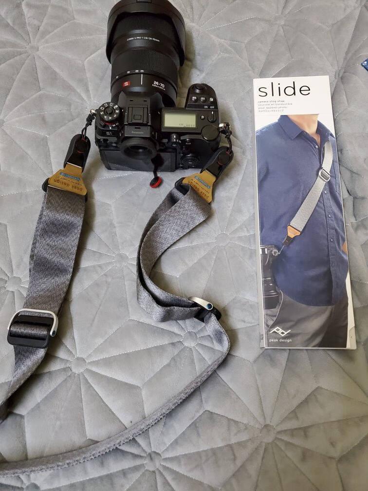 巅峰设计PeakDesignSLIDEV2单反微单相机快枪手背带快速减压肩带SLIDEV2(象牙灰-宽4.5cm京JD东快递