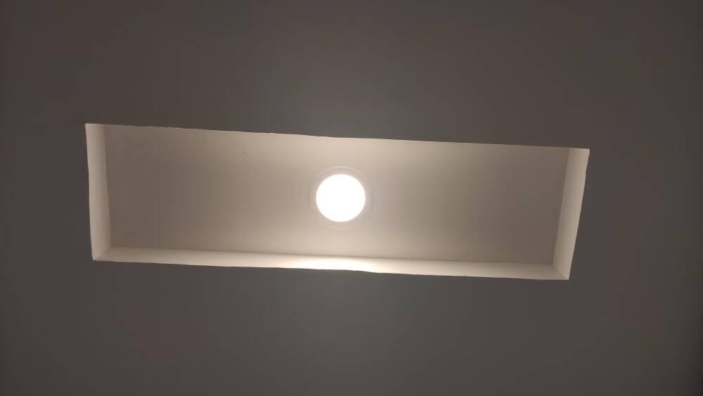 Yeelight智能LED射灯M2蓝牙Mesh技术智能语音控制网关支持调光调色客厅吊顶灯过道嵌入式孔灯工程工业