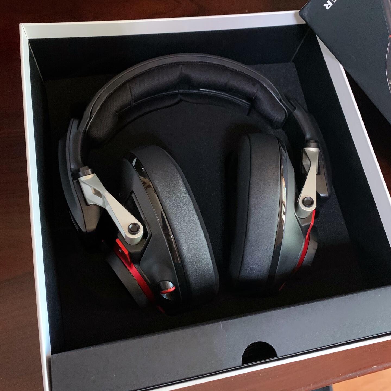 森海塞尔封闭式游戏耳机,送男朋友听音辨位礼物