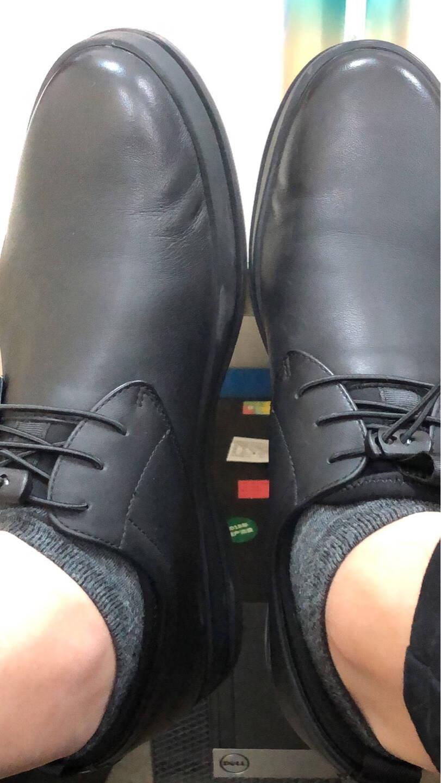金利来(goldlion)男鞋时尚舒适商务休闲鞋柔软耐磨皮鞋508730761AJB-黑色-43码
