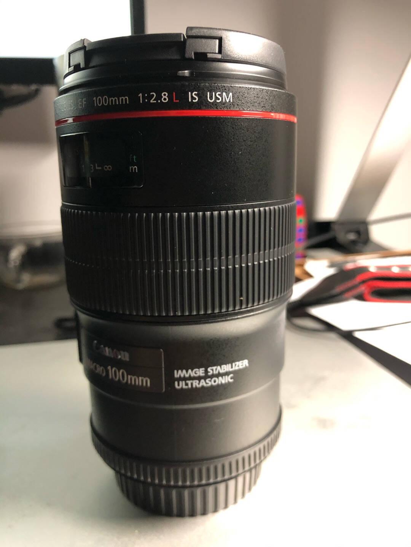 佳能(Canon)EF100mmf/2.8LISUSM单反镜头微距镜头