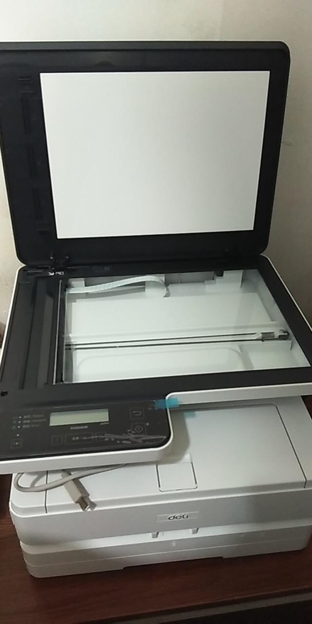 得力三合一家用办公大容量打印机,高精度方便打印