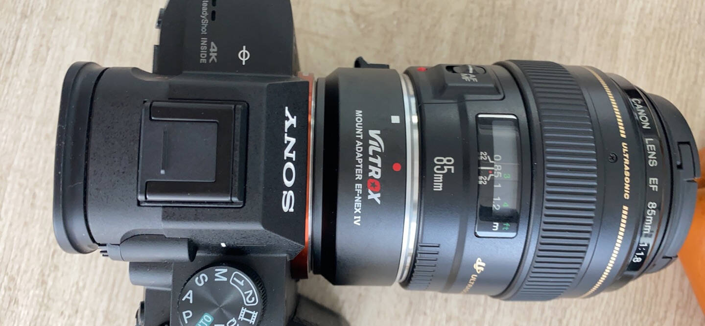 唯卓仕EF-NEXIV佳能转索尼转接环e口微单转佳能EFEF-S镜头四代升级款自动对焦金属卡口(VILTROX)