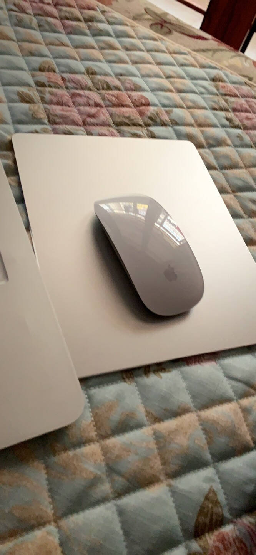 Apple苹果鼠标无线二代妙控鼠标蓝牙MagicMouse2代银色妙控鼠标(兼容性咨询客服)