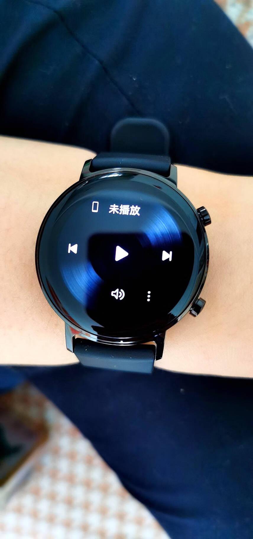 HUAWEIWATCHGT2(42mm)华为手表运动智能手表凝霜白(血氧检测+一周续航+麒麟A1芯片+心脏健康监测)