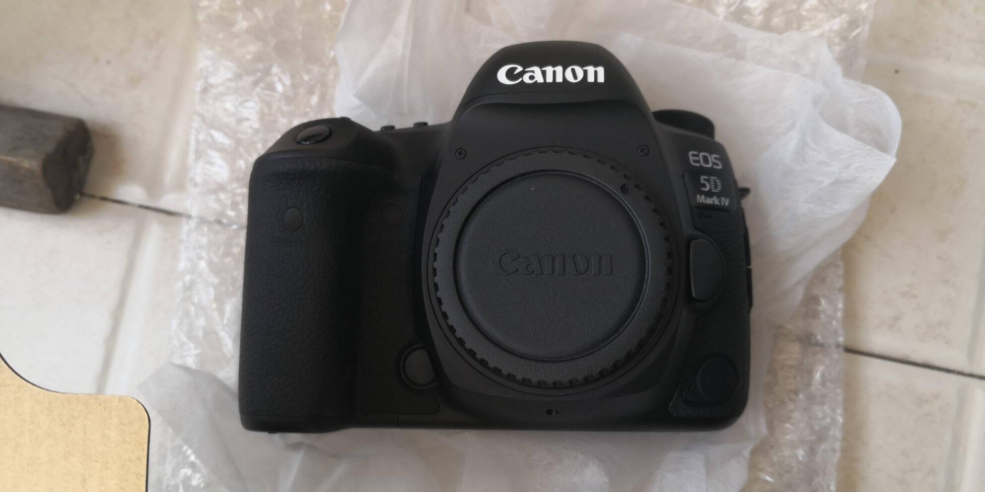 佳能(Canon)EOS5DMarkIV5D4单反相机单反机身全画幅(约3040万像素双核CMOS4K短片WiFi/NFC)