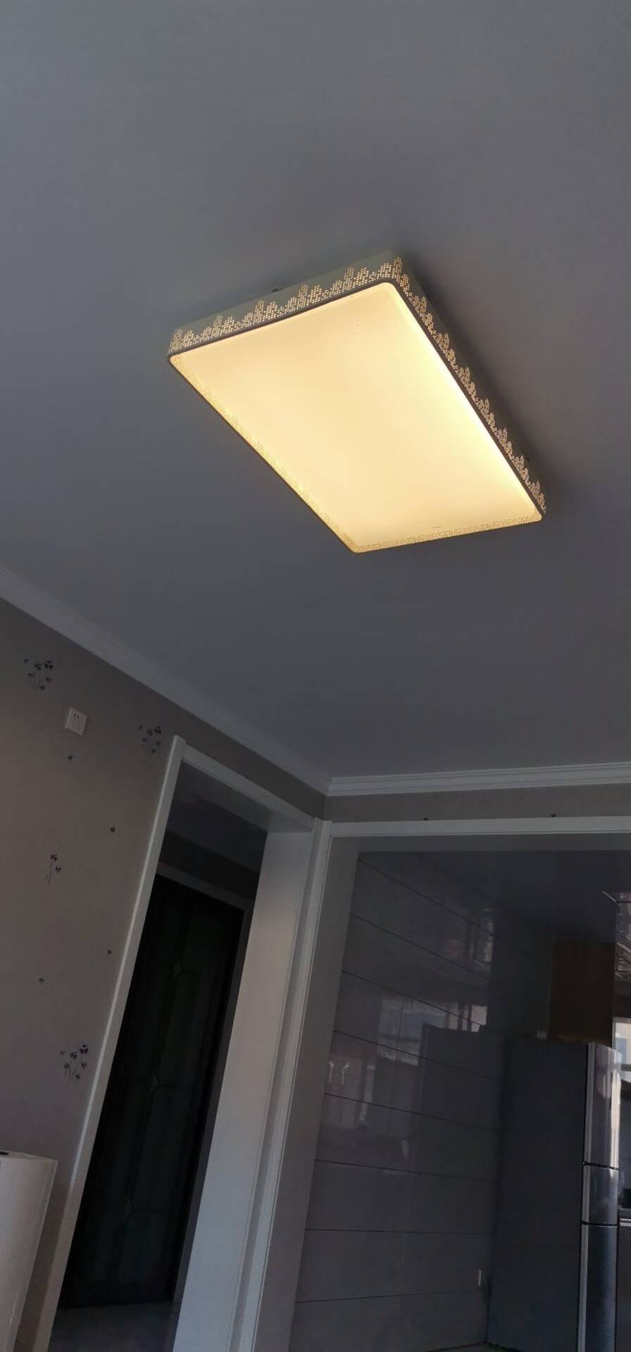 欧普照明(OPPLE)客厅灯led吸顶灯智能调光调色餐厅吊饰卧室灯阳台过道简约北欧灯具灯饰城市之光套餐
