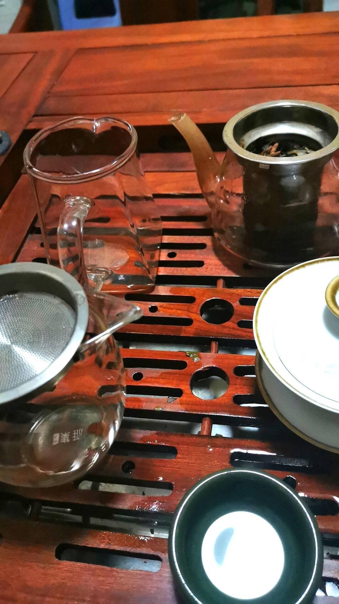 雅集玻璃公道杯带茶漏加厚耐热分茶器家用过滤茶海功夫茶道茶具配件
